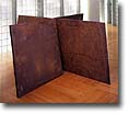 Inverted House of Cards by Richard       Serra